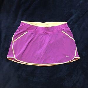 Nike high waisted tennis skirt skort